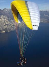 Icaro Paraglider Twice