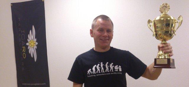 Ulf Carling - Stolt vinnare av Icaro Cup 2013