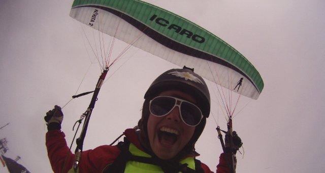 Martine Eng - acro pilot