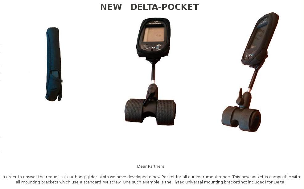 Flymaster-fäste-delta-pocket
