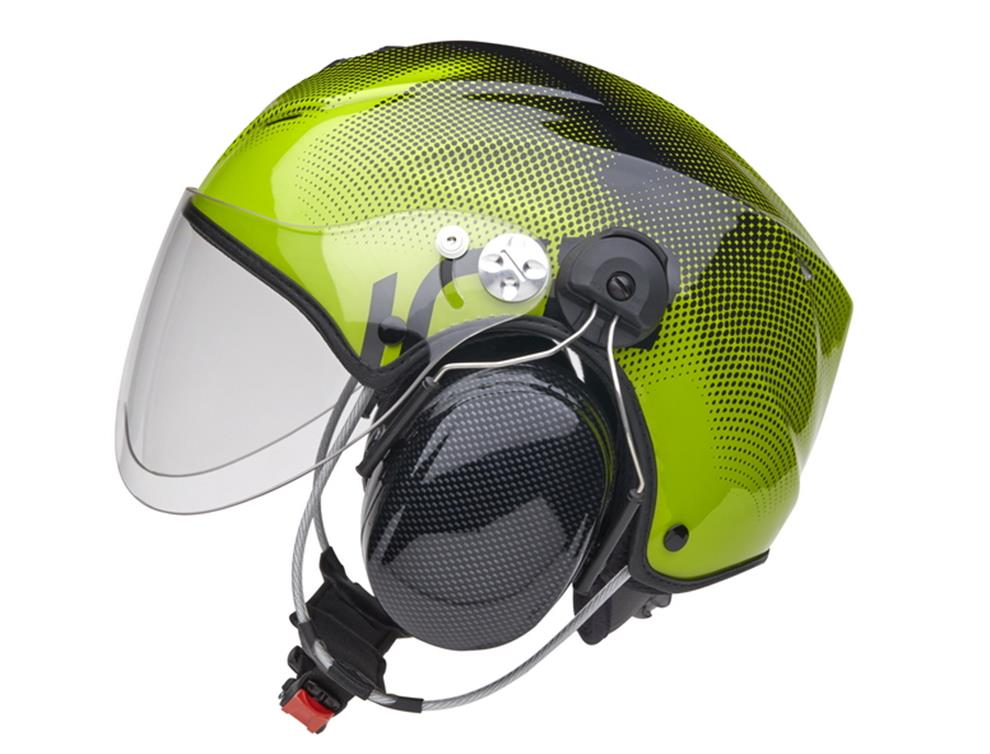 Icaro-Nerv-Grön-med-öronkåpor