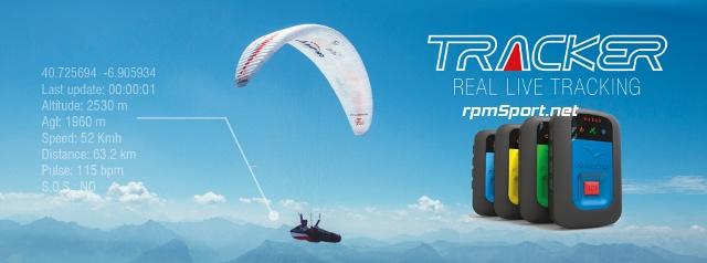 Flymaster Tracker - LIVE-tracking för äventyrssporter