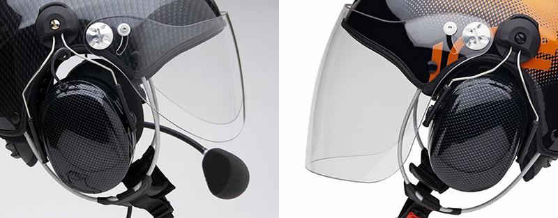 Solar-X hjälm med visir