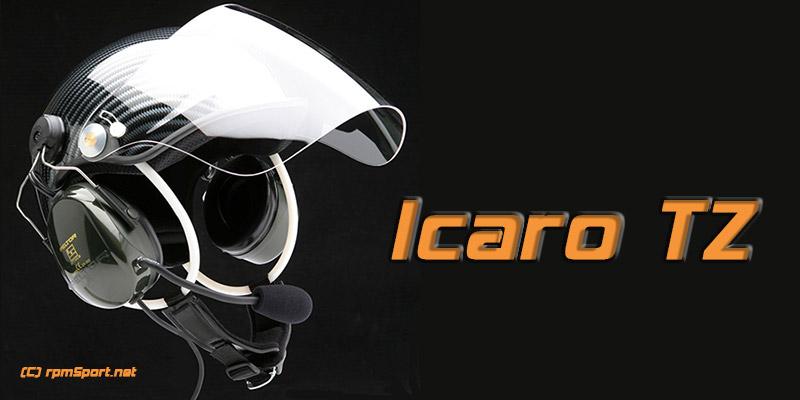 Icaro TZ hjälm för skotor & paramotor (lättvikt)