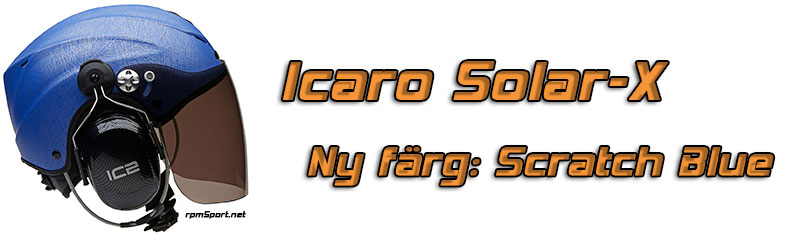 Icaro Solar X scratch blue