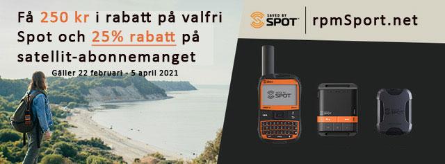 SPOT GEN 4 rabatt 250 kr + abonnemang rpmSport.net